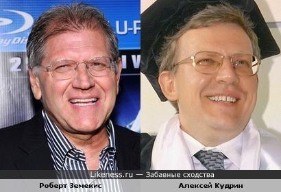 Роберт Земекис и Алексей Кудрин