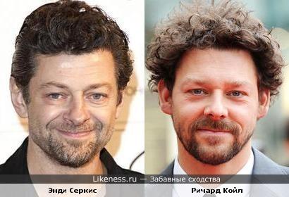 Энди Серкис и Ричард Койл