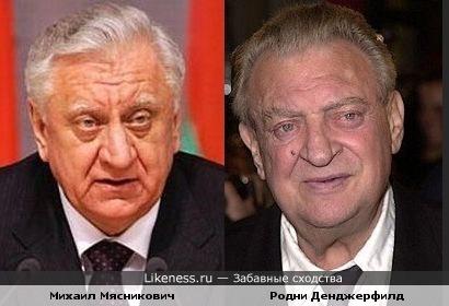 Премьер-министр Беларуси и актёр