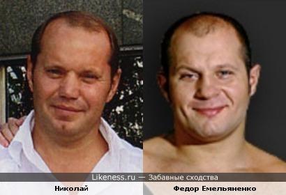 Муж Алики Смеховой и Федор Емельяненко