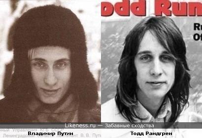 Путин и Рандгрен