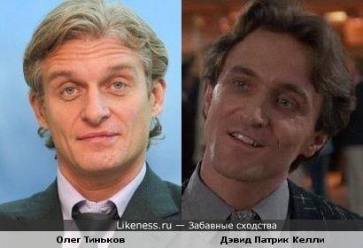 Олег Тиньков и Дэвид Патрик Келли