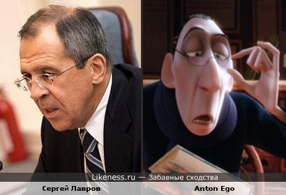 Министр и мультперсонаж