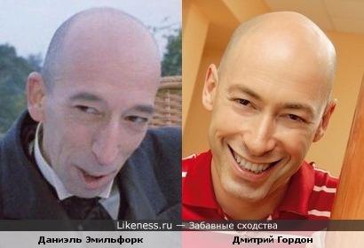 Даниэль Эмильфорк и Дмитрий Гордон