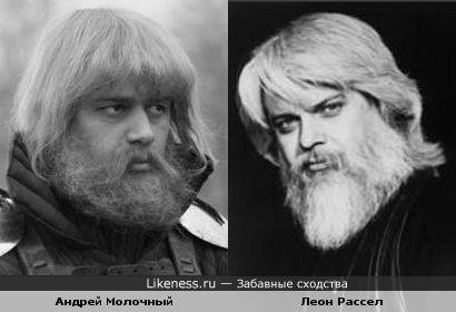 Андрей Молочный и Леон Рассел