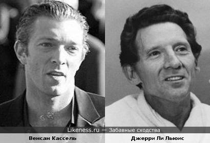 Венсан Кассель и Джерри Ли Льюис