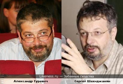 Александр Гуревич и Сергей Шахиджанян
