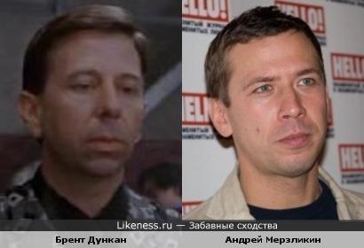 Брент Дункан и Андрей Мерзликин