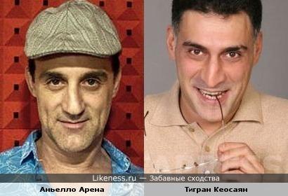 Аньелло Арена и Тигран Кеосаян