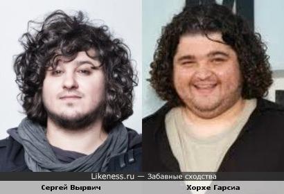 Сергей Вырвич (Ю-Питер) и Хорхе Гарсиа (LOST)
