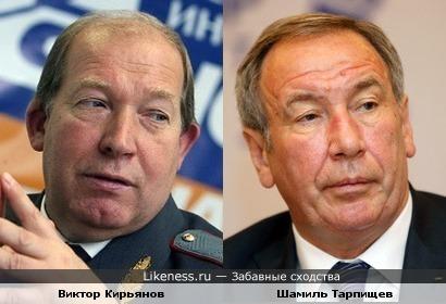 Виктор Кирьянов и Шамиль Тарпищев