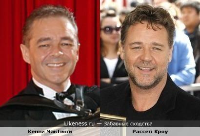 Кенни МакГинти и Рассел Кроу
