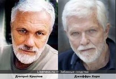 Дмитрий Крылов и Джеффри Хорн