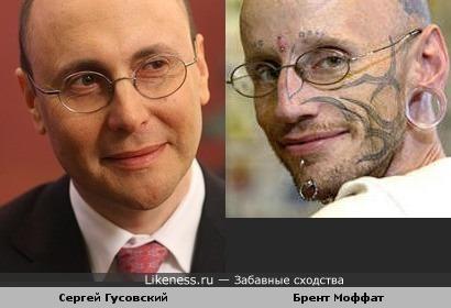 Сергей Гусовский - неформал )
