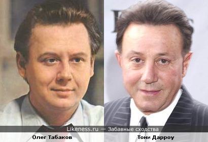 Олег Табаков и Тони Дарроу