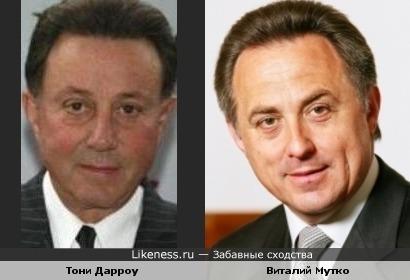 Тони Дарроу - Виталий Мутко
