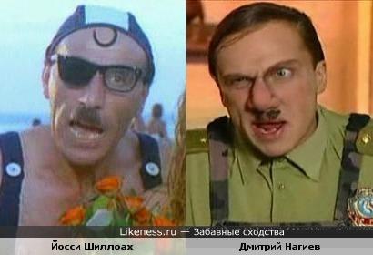 Прообраз Задова в израильском фильме 1986г.