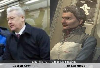 Похожие лица в метро