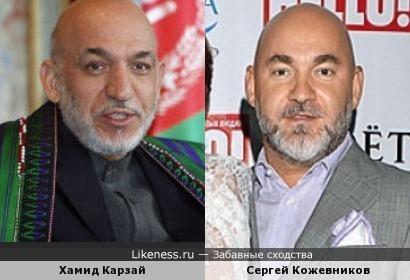 Хамид Карзай и Сергей Кожевников