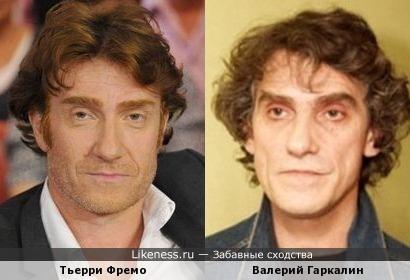 Тьерри Фремо - Валерий Гаркалин