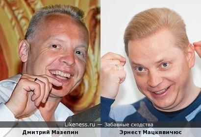 Дмитрий Мазепин - Эрнест Мацкявичюс