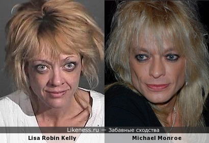 Lisa Robin Kelly - Michael Monroe
