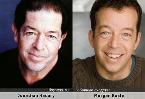 Jonathan Hadary - Morgan Rusle
