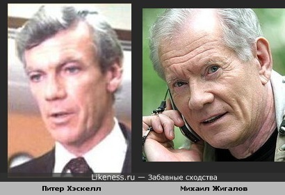 Питер Хэскелл похож на Михаила Жигалова