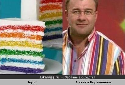 Торт как Михаил Пореченков