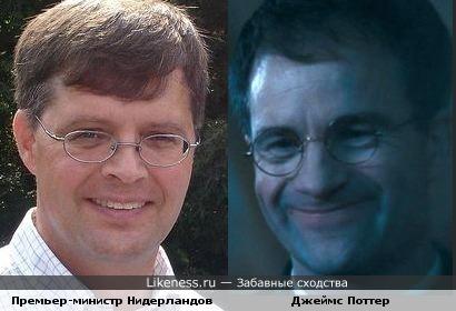 Премьер-министр Нидерландов похож на Поттера