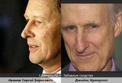 Иванов похож на Кромуэлла?