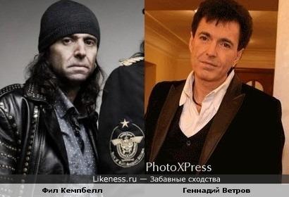 Фил Кемпбелл(Motorhead) и Геннадий Ветров(Аншлаг)