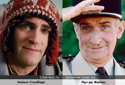 Майкл Сталберг в роли Гриффина похож на Луи де Фюнеса!