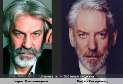 Борис Хмельницкий и Кифер Сазерленд