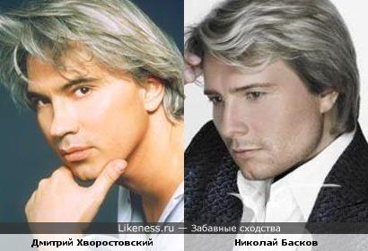 Дмитрий Хворостовский и Николай Басков