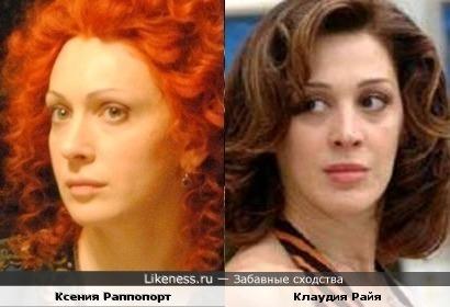 Ксения раппопорт на likeness ru 34 сходства