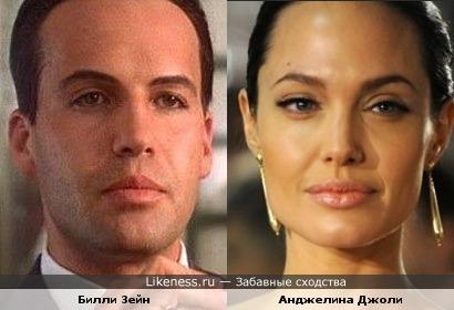 Билли Зейн и Анджелина Джоли