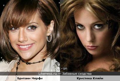 Британи Мерфи и Кристина Кляйн