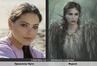 Орнелла Мути и Фурия