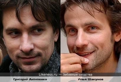 Григорий Антипенко и Илья Шакунов
