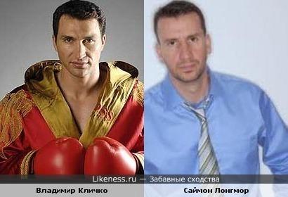 Владимир Кличко и Саймон Лонгмор