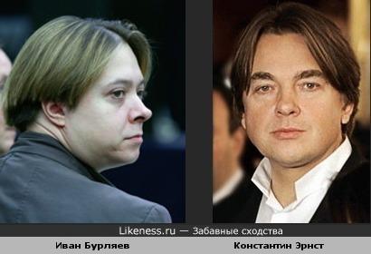 Иван Бурляев и Константин Эрнст
