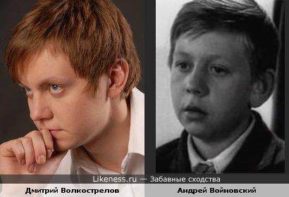 Дмитрий Волкострелов и Андрей Войновский