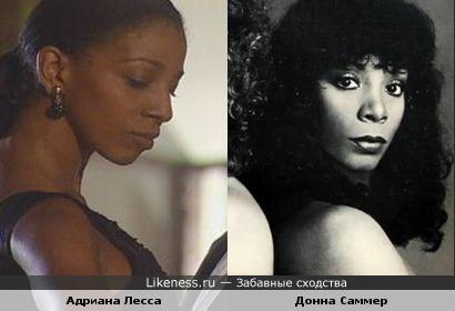 Адриана Лесса и Донна Саммер