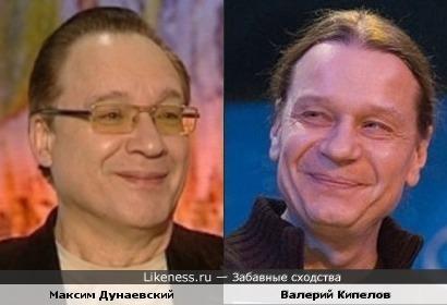 Максим Дунаевский и Валерий Кипелов