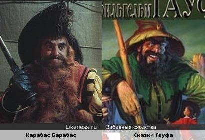 Карабас Барабас и Сказки Гауфа