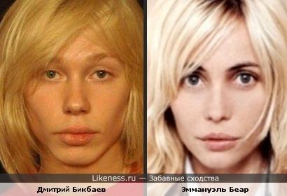 Дмитрий Бикбаев и Эммануэль Беар