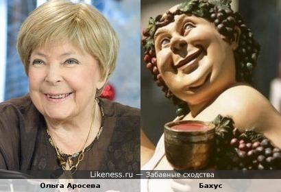 Ольга Аросева и Бахус