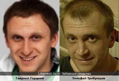 Гавриил Гордеев и Тимофей Трибунцев