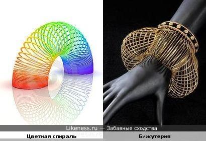 Цветная спираль и Бижутерия